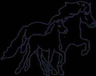 Logo Islandpferde von Lutzenberg